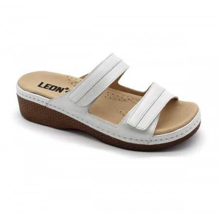 Sandale Leon 1040 NEGRU - ALB - DAMA