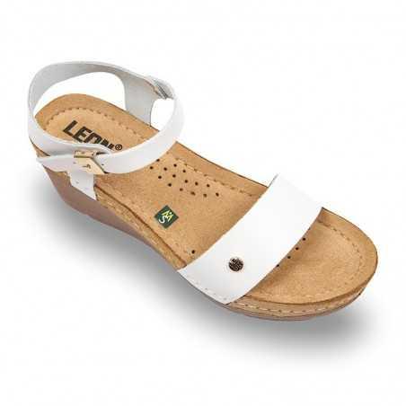 Sandale dama alb 1015