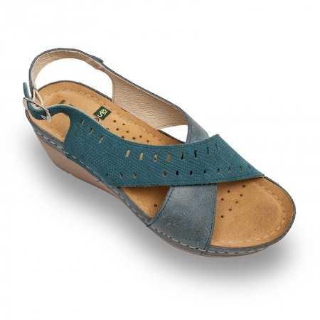 Sandale dama albastru 1030  - 1