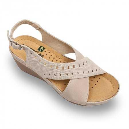 Sandale dama bej 1030  - 1