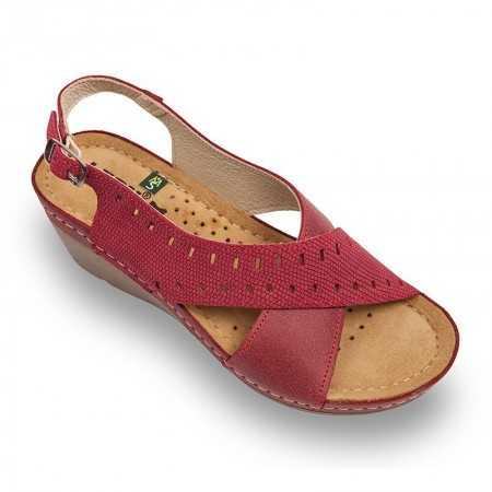 Sandale dama rosu 1030  - 1