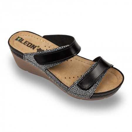 Papuci medicali dama negru 1040  - 1