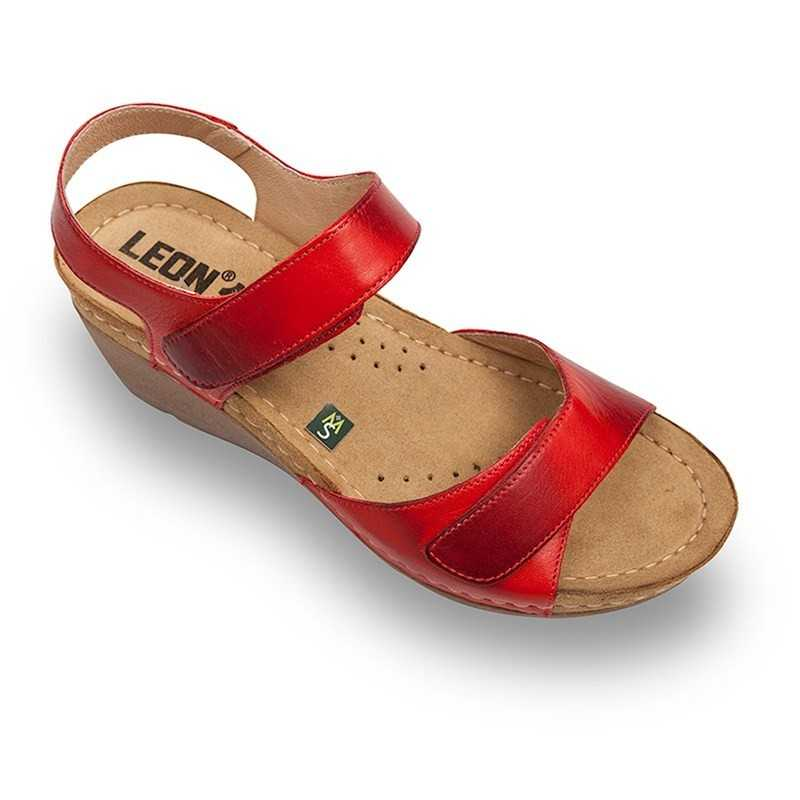 Sandale dama rosu 1041  - 1