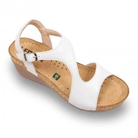 Sandale dama alb 1050  - 1