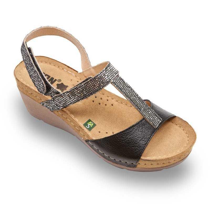 Sandale dama negru 1061  - 1