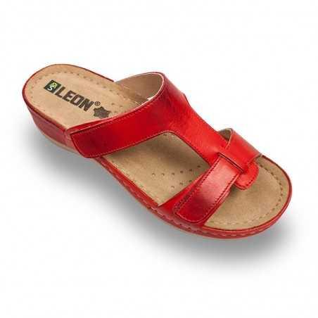 Papuci dama rosu 914