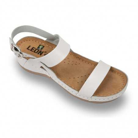 Sandale dama alb 920