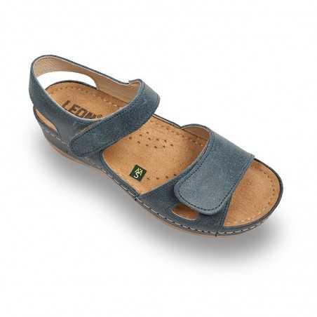 Sandale dama albastru 935