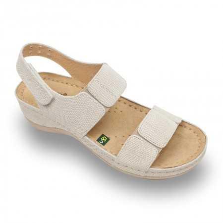 Sandale dama bej 945  - 1