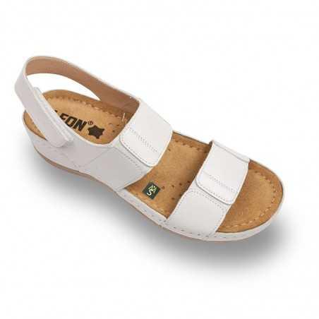 Sandale dama alb 945