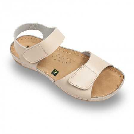 Sandale dama bej 963  - 1
