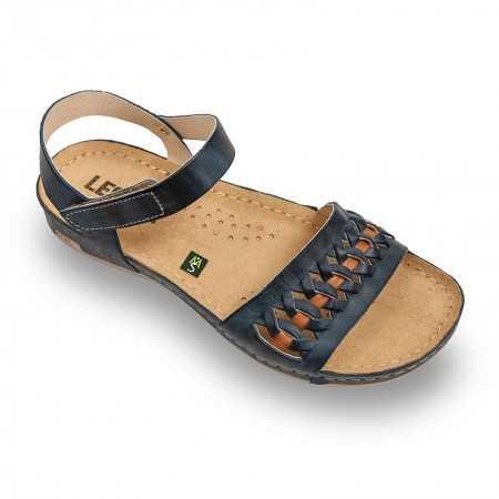 Sandale dama albastru 964  - 1