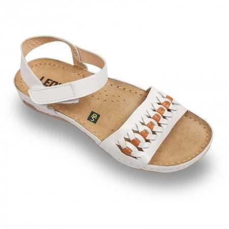 Sandale dama alb 964  - 1